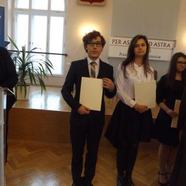 Kacper Korbut – stypendysta Stypendium Prezesa Rady Ministrów