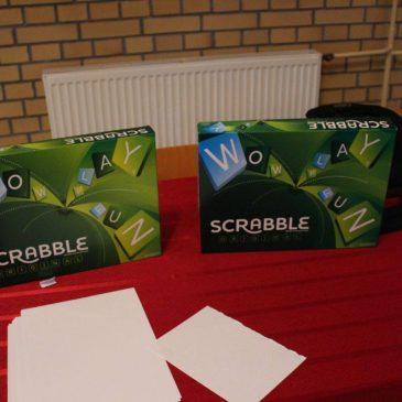 Podium w II Międzyszkolnym Turnieju Scrabble w Języku Angielskim