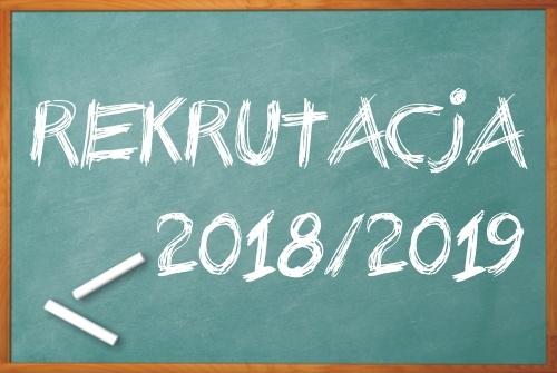 Oferta edukacyjna na rok szkolny 2018/2019