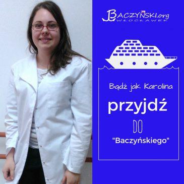 Absolwent naszą wizytówka- Karolina Michalska (rocznik 2015); studentka fizjoterapii na Uniwersytecie w Białymstoku