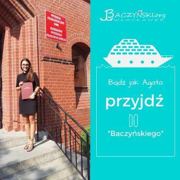 Absolwent naszą wizytówka- Agata Perlińska (rocznik 2013); studentka logopedii