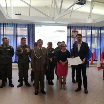 Uroczyste podpisanie porozumienia o współpracy z WKU Włocławek