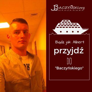 Absolwent naszą wizytówką- Albert Wastowski, magister Wojskowej Akademii Technicznej w Warszawie (Wydział Cybernetyki)