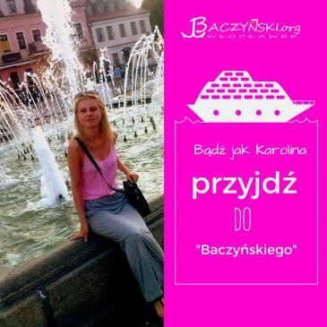 Absolwent naszą wizytówką- Karolina Torzańska (rocznik 2011); studentka logistyki i mechaniki i budowy maszyn