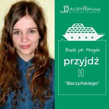 Absolwent naszą wizytówką- Magda Grabczyńska (rocznik 2011); studentka logistyki na Uniwersytecie Łódzkim