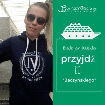 Absolwent naszą wizytówką- Klaudia Hładko; studentka Wydziału Filologicznego Uniwersytetu Łódzkiego