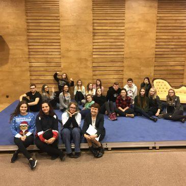 Przygoda z teatrem klasy IIA liceum