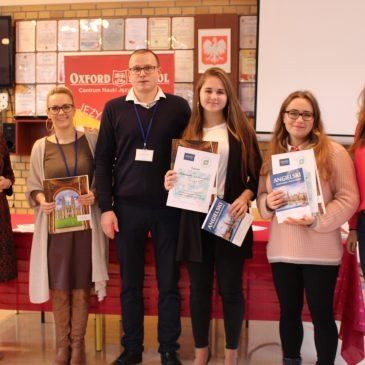 III Międzyszkolne Mistrzostwa Gry w Scrabble w Języku Angielskim