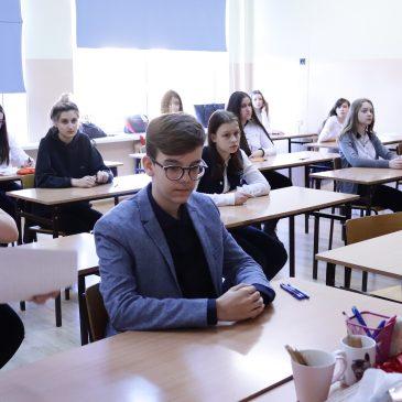 VI Międzyszkolny Konkurs Języka Angielskiego dla Gimnazjum oraz I Międzyszkolny Konkurs Języka Angielskiego dla klas 8 Szkół Podstawowych.