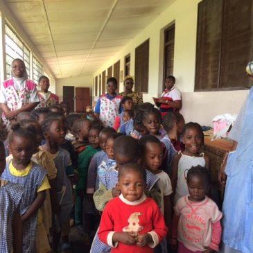 Pomoc dla dzieci w Kamerunie