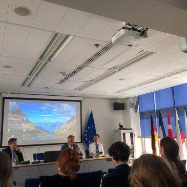 Wizyta w Przedstawicielstwie Komisji Europejskiej w Warszawie