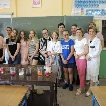 Pokazy doświadczeń chemicznych
