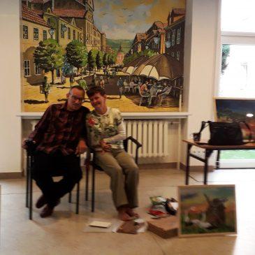 Niezwykła lekcja – malowanie stopami