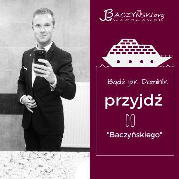 Absolwent naszą wizytówką- Dominik Cieślikiewicz; szef Stowarzyszenia Ładowarka