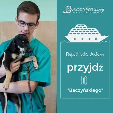 Absolwent naszą wizytówką- Adam Krzyżanowski (rocznik 2017); student weterynarii