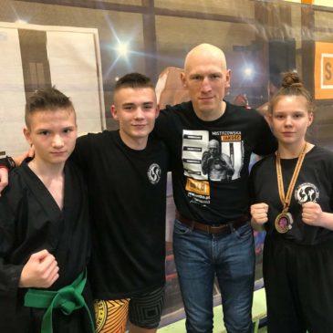 Wywalczył brązowy medal w Pucharze Polski Karate