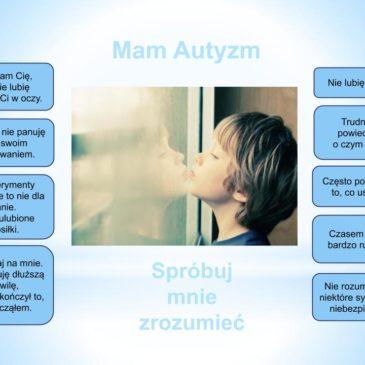 Światowego Dnia Świadomości Autyzmu