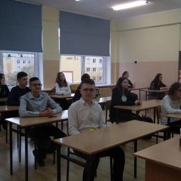 II Międzyszkolny Konkurs Języka Angielskiego dla klas 8 Szkół Podstawowych
