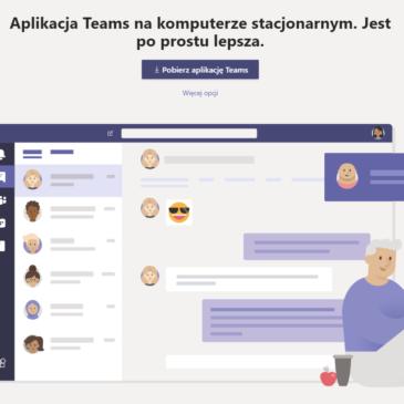 Aplikacja Teams od Microsoft