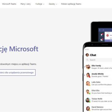 UCZNIOWIE – LINK, aby pobrać aplikację Microsoft Teams