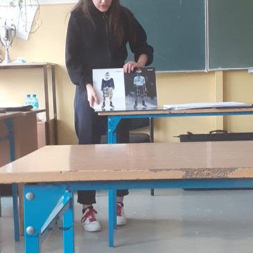Edukacja teatralna- zajęcia z panią Barbarą Bińkowską.