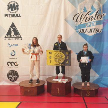 Gabriela Majewska brązową medalistką Międzynarodowego Turnieju Sztuk Walki Winter Open 2020