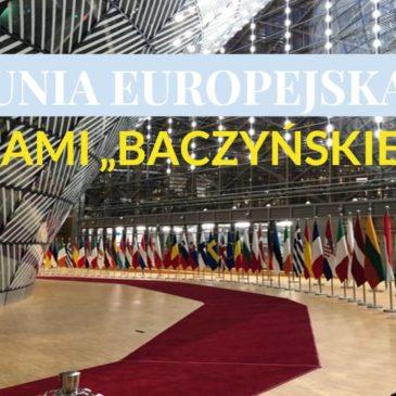 """Unia Europejska oczami """"Baczyńskiego"""""""